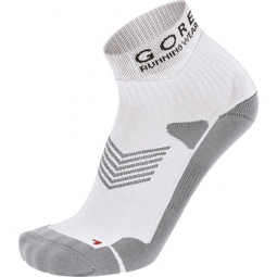 gore running wear chaussettes mythos blanc