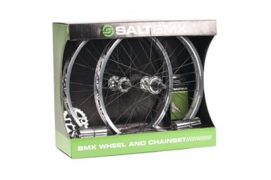 salt pack de roues plateau chaine pegs vallon chrome