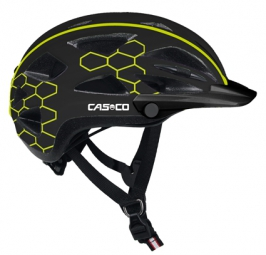 casco casque ville chemin activ tc noir techno