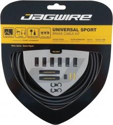 jagwire kit cables et gaines pour derailleurs universal sport shift ice gray