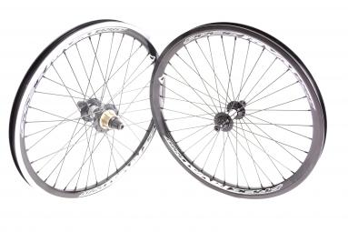 pride paire de roues rival pro noir