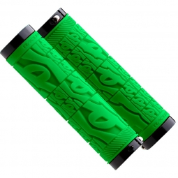 race face paire de grips strafe lock on vert