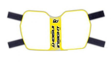 insight plaque de cadre vision jaune