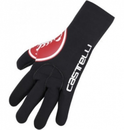 castelli 2015 paire de gants diluvio scorpion rouge
