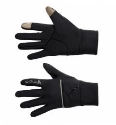 odlo gants polyknit intensity cover noir