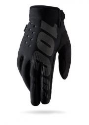 100 paire de gants brisker noir