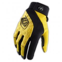 troy lee designs gants sprint enfant jaune