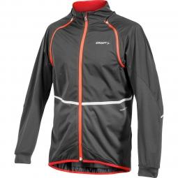 craft veste tempete noir rouge