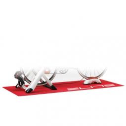 elite tapis entrainement 74x190cm pour home trainer