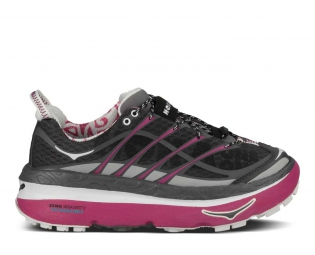 hoka chaussures mafate 3 noir rose femme