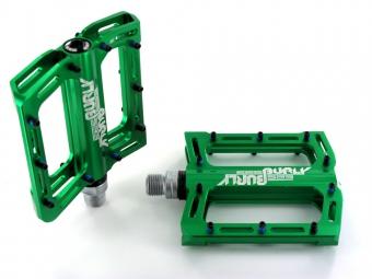 sb3 paire de pedales burly dh vert