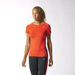 adidas t shirt femmes supernova orange