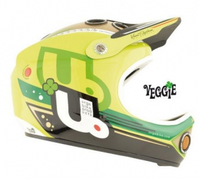 urge casque integral down o matic veggie jaune