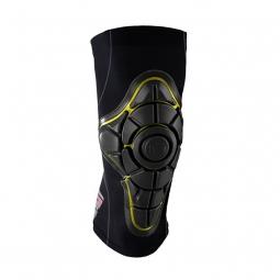 g form pro x genouilleres knee pads noir jaune