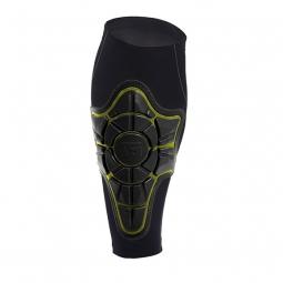 g form proteges tibia pro x shin pads noir jaune