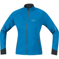 gore running wear veste essential so lady bleu