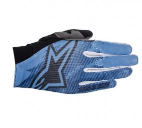 alpinestars paire de gants aero bleu