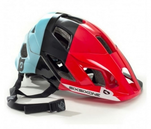 casque 661 sixsixone evo am 2016 rouge