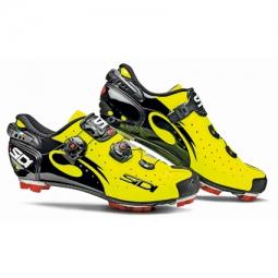 chaussures vtt sidi drako jaune fluo noir
