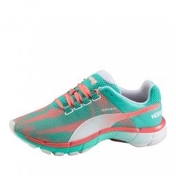 puma chaussures femme modium elite speed bleu rose