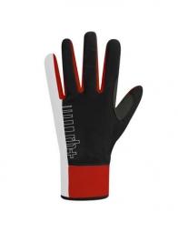 zero rh paire de gants longs fuego blanc noir rouge