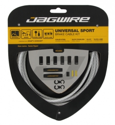 jagwire kit freins universal sport blanc tresse