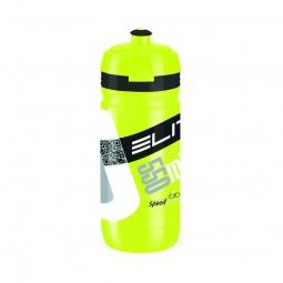 elite bidon corsa jaune fluo 550 ml