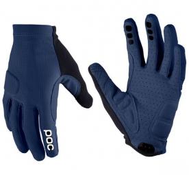 poc paire de gants index flow bleu