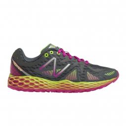 new balance chaussures wt 980 fresh foam gris jaune femme