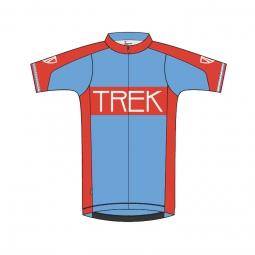 bontrager 2015 maillot rl rouge bleu vintage
