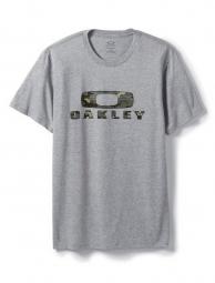 oakley t shirt camo nest gris