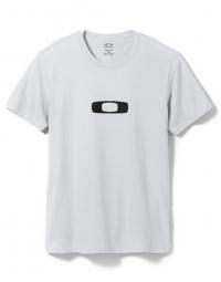 oakley t shirt square me blanc