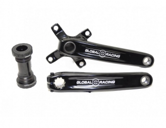 global racing pedalier exhaust pro noir