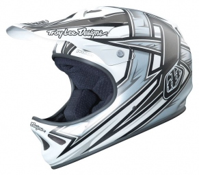 casque integral troy lee designs d2 proven blanc