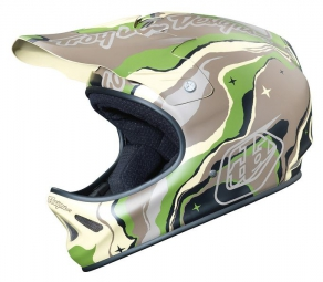 casque integral troy lee designs d2 galaxy vert