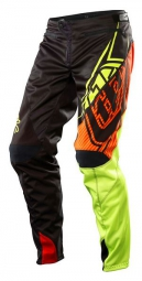 troy lee designs pantalon enfant sprint elite jaune noir