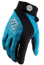 troy lee designs gants sprint bleu