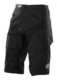 troy lee designs short moto solid noir