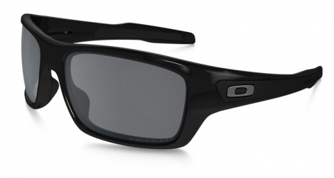 oakley lunettes turbine noir gris polarise ref oo9263 08
