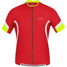 gore bike wear maillot power 2 0 rouge