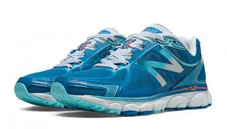 new balance chaussures w1080v5 b bleu blanc femme