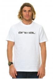 animal t shirt loyale blanc