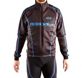 alltricks by northwave veste thermique sport noir bleu