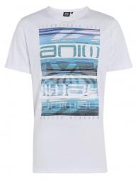 animal t shirt lahabras blanc