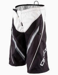 oneal short element fr blanc noir