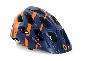 casque 661 sixsixone recon strycker 2015 bleu orange