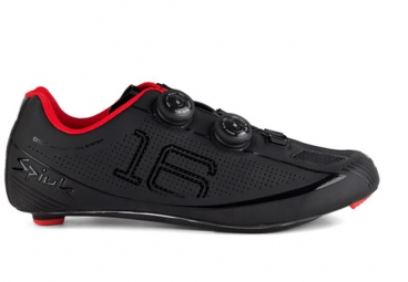 chaussures route spiuk 16 road carbono 2015 noir mat