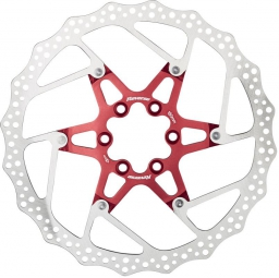 reverse disque de freins 180mm rouge