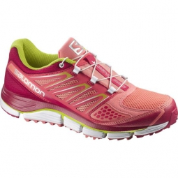 salomon chaussures x wind pro rose femme