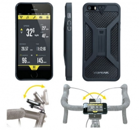 topeak coque support velo pour iphone5 noir